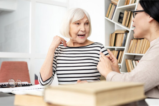 Helping Seniors Communicate More Effectively